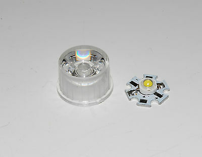 Led Waterproof Lens Holder 30 Degree with 3w  LED High Power Bead Lamp A093
