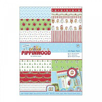 DoCrafts Pippinwood A4 Paper Pack 26pcs