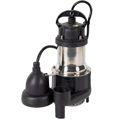 iON 1/3 HP Cast Iron Stainless Steel Sump Pump w/ Digital Level Control HP20157