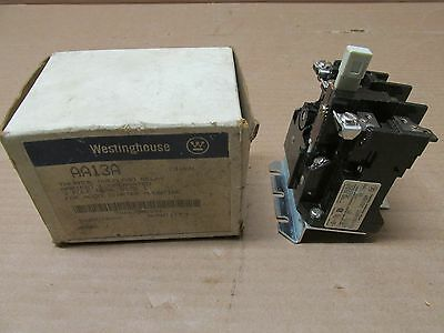 NIB Westinghouse AA13A Thermal Overload Relay Size 1 3 Pole 600 VAC for A200 NEW