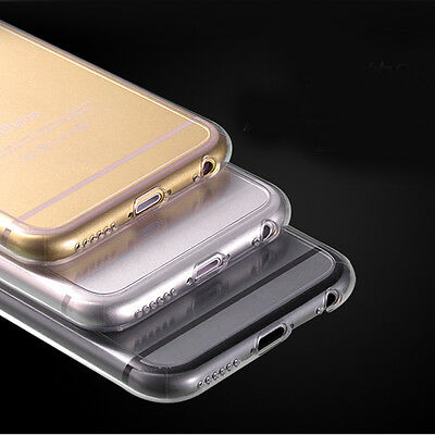 "10PCS Ultra Thin Crystal Clear Soft Gel TPU Guard Case Cover For iPhone 6 (4.7"")"