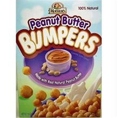 Mothers B53103 Mothers Peanut Butter Bumpers Cereal -14x12.3 Oz