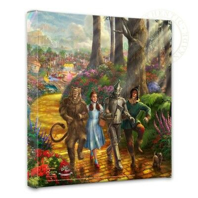 Thomas Kinkade Wrap Follow the Yellow Brick Road 14 x 14 Gallery Wrap