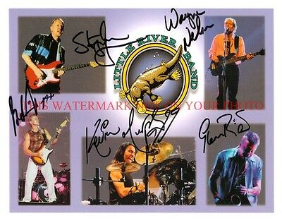 THE LITTLE RIVER BAND AUTOGRAPHED 8x10 RP PHOTO LONESOME LOSER