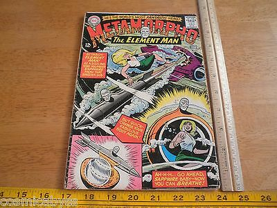 Metamorpho #2 VG Silver Age comic 1960's The Element Man