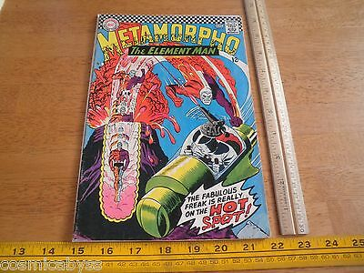 Metamorpho #7 VG Silver Age comic 1960's The Element Man