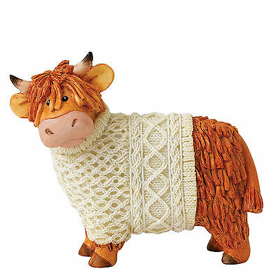Border Studio Hairy Coos! Bonnie Highland Cattle Figurine NEW in Gift BOX  21442