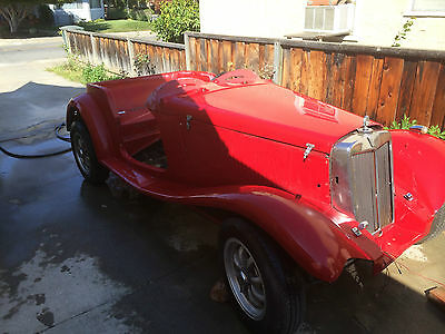 Replica/Kit Makes None Last Chance for this Great 1953 MGTD Kit Car