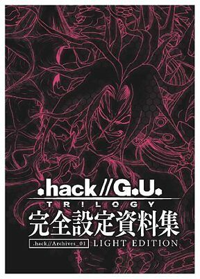 .hack//G.U. TRILOGY Perfect Official Wroks: .hack//Archives_01 Light Edition