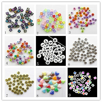 100Pcs Faceted Mixed Color Acrylic Pendant bead F-12