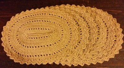 Set of 6 Vintage Crocheted Placemats