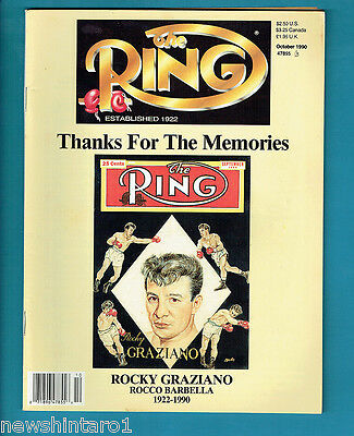 #aa. The Ring Boxing Magazine, October 1990