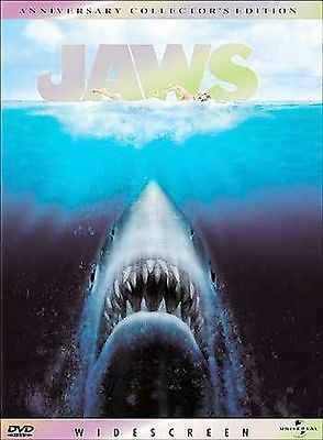 Jaws (DVD, 2000, Anniversary Collector's Edition) New, Free shipping