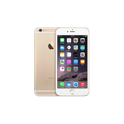 NEW Apple iPhone 6 16GB 4G LTE Factory Unlocked GOLD (GBH)