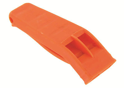 Marine Whistle Emergency Survival Hiking  - Orange Hi Vis Military Army