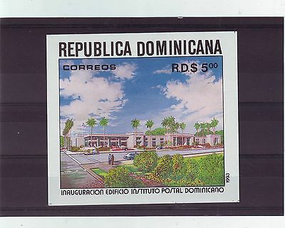 Dominican Rep - Sgms1832 Mnh 1993 Inaug Postal Institute Building