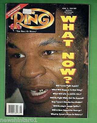 #dd.   The Ring Boxing Magazine, June 1992