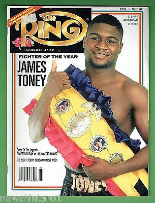 #dd.   The Ring Boxing Magazine, May 1992