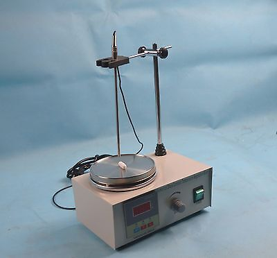 Free Ship 85-2 110V Magnetic Stirrer With Hot Plate Digital Heating Lab Mixer
