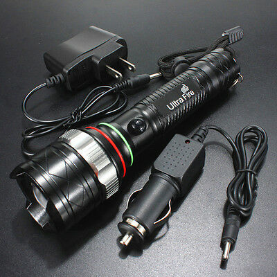 2000LM UltraFire CREE XM-L T6 LED Rechargeable 18650 Flashlight Torch w/ Charger