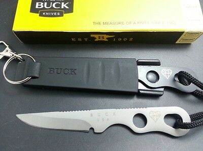 White Buck Knives 160SS Outdoor knife Keychain Small Neck Survival Tool Gift