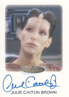 Star Trek of Women: Julie Caitlin Brown autograph