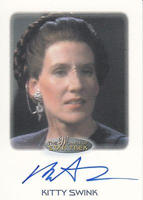 Star Trek of Women: Kitty Swink autograph