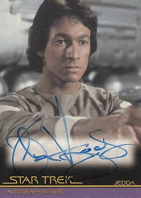 Star Trek Quotable Movies  A84 John Vargas autograph