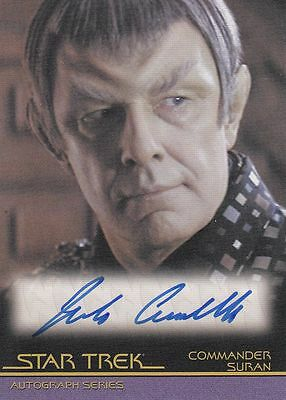 Star Trek Quotable Movies  A112 Jude Ciccolella autograph