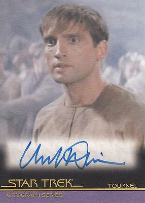 Star Trek Quotable Movies  A102 Mark Deakins autograph