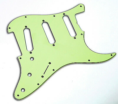 USA 62 Mint Green Pickguard 3 Ply Montreux Selected Parts fits to Strat ®