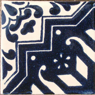 90 Mexican Ceramic Tiles Wall Or Floor Use Clay Talavera Mexico Pottery #c072