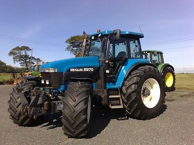New Holland 8670 8770 8870 8970 Tractor Workshop Manual on CD