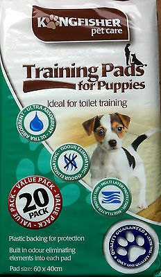 20, 50 Or 100 Puppy Training Pads Ultra Absorbent Odour Eliminating Multi Layer