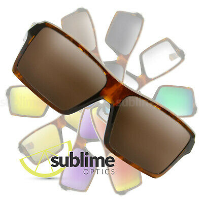 POLARIZED Dark Brown Replacement Lenses For Oakley Eyepatch & Eyepatch 2