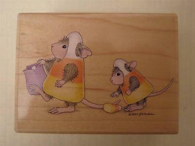 House Mouse SWEET FIND Stampabilities Wood Mounted Rubber Stamp