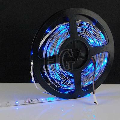 5M 300 LEDs 3528 SMD RGB Non-Waterproof LED Light Strip Lamp + IR Remote System