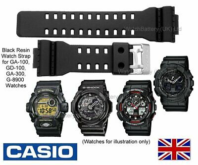 Genuine CASIO Watch Strap Band GA-100 GA100 GD-100 GD 100 GA-300 GA 300 G-8900