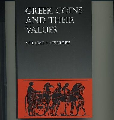 Greek Coins and Their Values, Volume 1 - Europe
