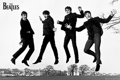 THE BEATLES JUMPING FOR JOY POSTER (61x91cm)  PICTURE PRINT NEW ART
