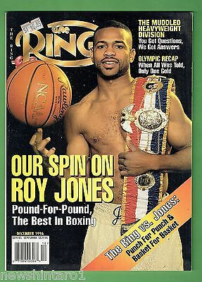 #ee.  The Ring Boxing Magazine, December 1996