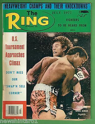 #ee.  The Ring Boxing Magazine, July 1977
