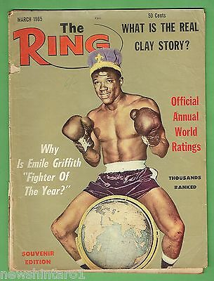 #ee.  The Ring Boxing Magazine, March 1965