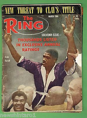 #ee.  The Ring Boxing Magazine, March 1966