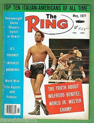 #ee.  The Ring Boxing Magazine, May 1977