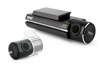 IROAD X9  2-CH Front & Rear FullHD 1080P + 64GB Dashcam with WIFI,HARDWIRE KIT