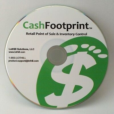 Pro Cash Register Point-of-Sale(POS) Software,Unlimited Items,Touch-screen Ready