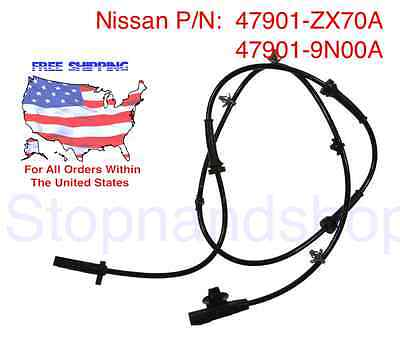 New ABS Wheel Speed Sensor for Altima Maxima Rear Back Left Driver Side LH