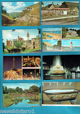 #T17.  53 UNUSED POSTCARDS, MANY GREAT BRITAIN SCENES etc