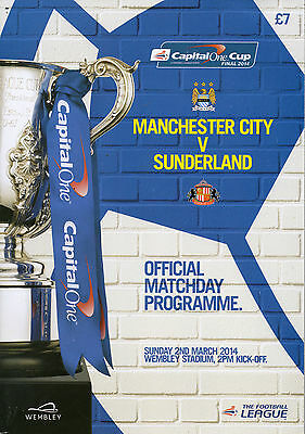 2014 Manchester City v Sunderland  (Capital One Cup Final)
